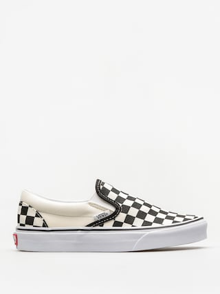 Topánky Vans Classic Slip On (blk whtchckerboard/white)
