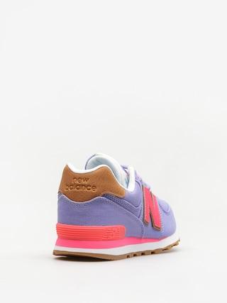 Topánky New Balance 574 (purple/pink)
