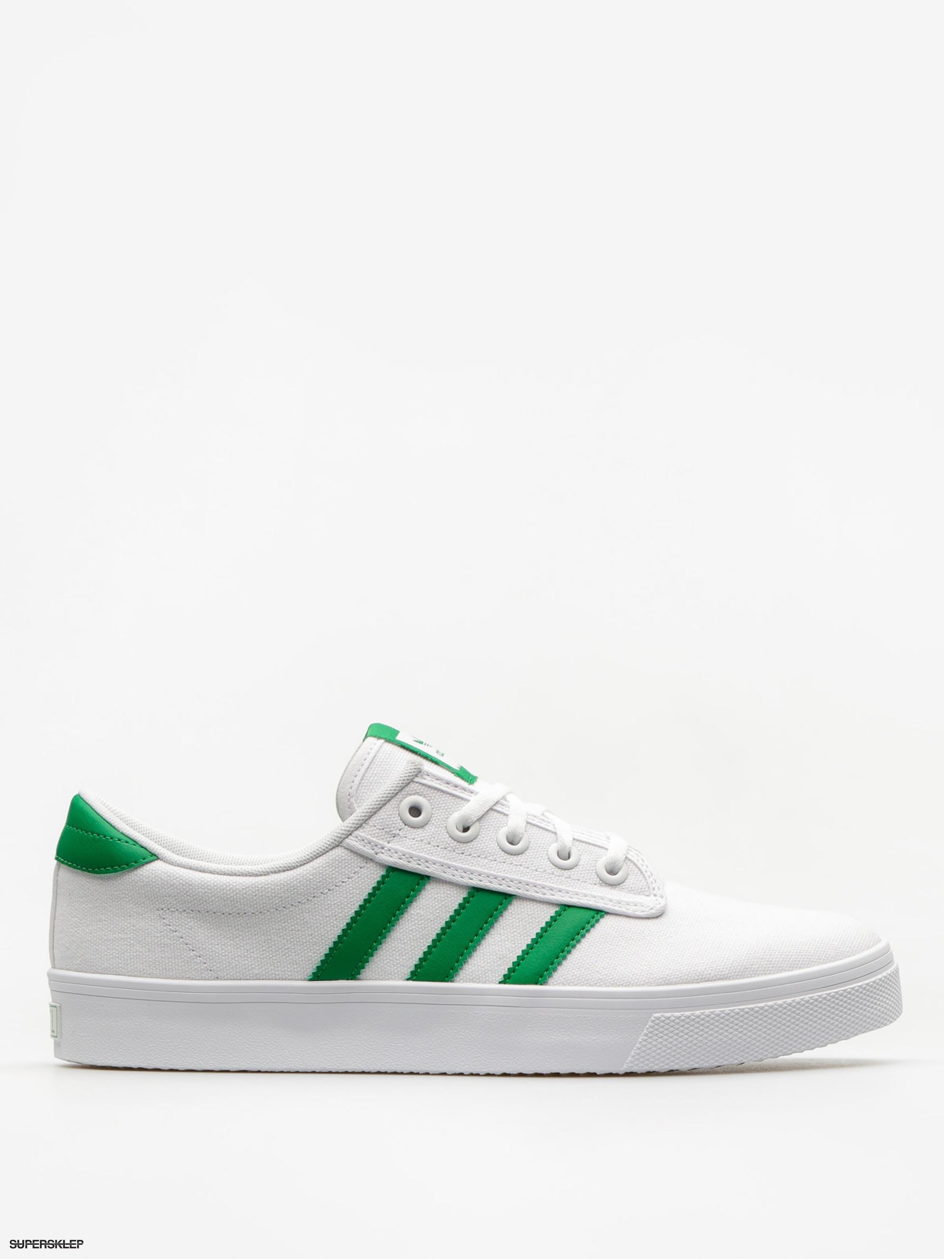7689d4feb Topánky adidas Kiel (ftwwht/green/ftwwht)