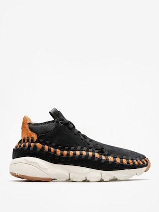 Topánky Nike Air Footscape Woven Chukka Premium (black/black dark russet sail)