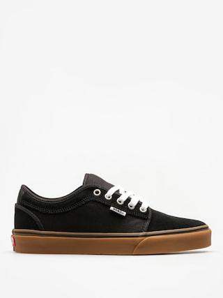 Topu00e1nky Vans Chukka Low (black/black/gum)