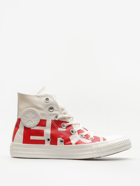 Tenisky Converse Chuck Taylor All Star Hi (natural/enamel red/egret)