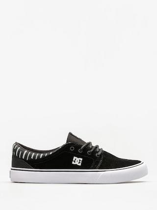Topánky DC Trase Se (black/white/black)
