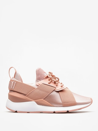 Topánky Puma Muse Satin Ep Wmn (peach beige/puma white)