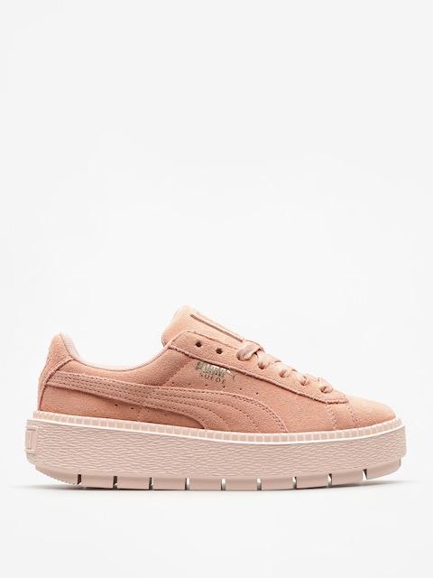 Topánky Puma Platform Trace Wmn (peach beige/pearl)