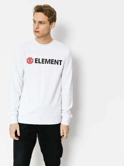Mikina Element Blazin Crew (optic white)