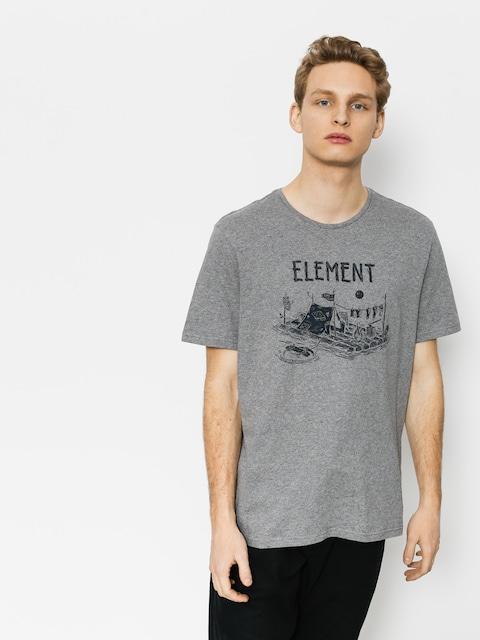 Tričko Element River Dreams (grey heather)