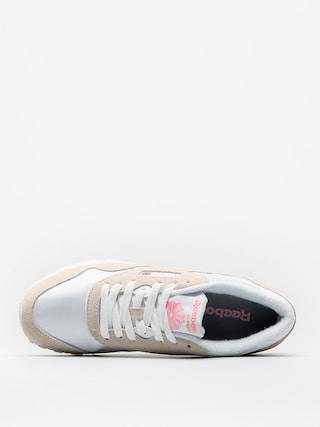 Tenisky Reebok Classic Nylon Wmn (white/light grey)