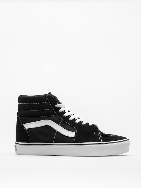 Topánky Vans Sk8 Hi Lite (suede/canvas/black/white)