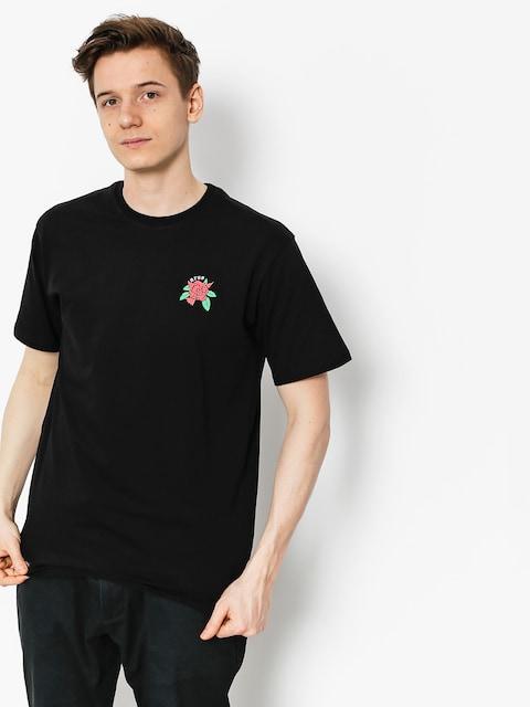 Tričko Nervous Rose (black)