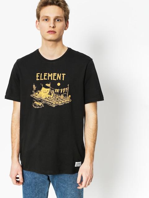 Tričko Element River Dreams (off black)