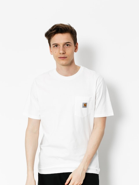 Carhartt Tričko Pocket (white)