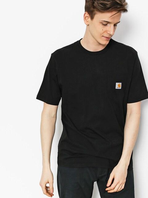 Carhartt Tričko Pocket (black)