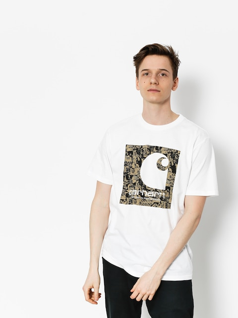 Carhartt Tričko C Collage (white)