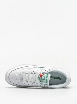 Topánky Reebok Club C 85 Archive Wmn (white/glen green/red)
