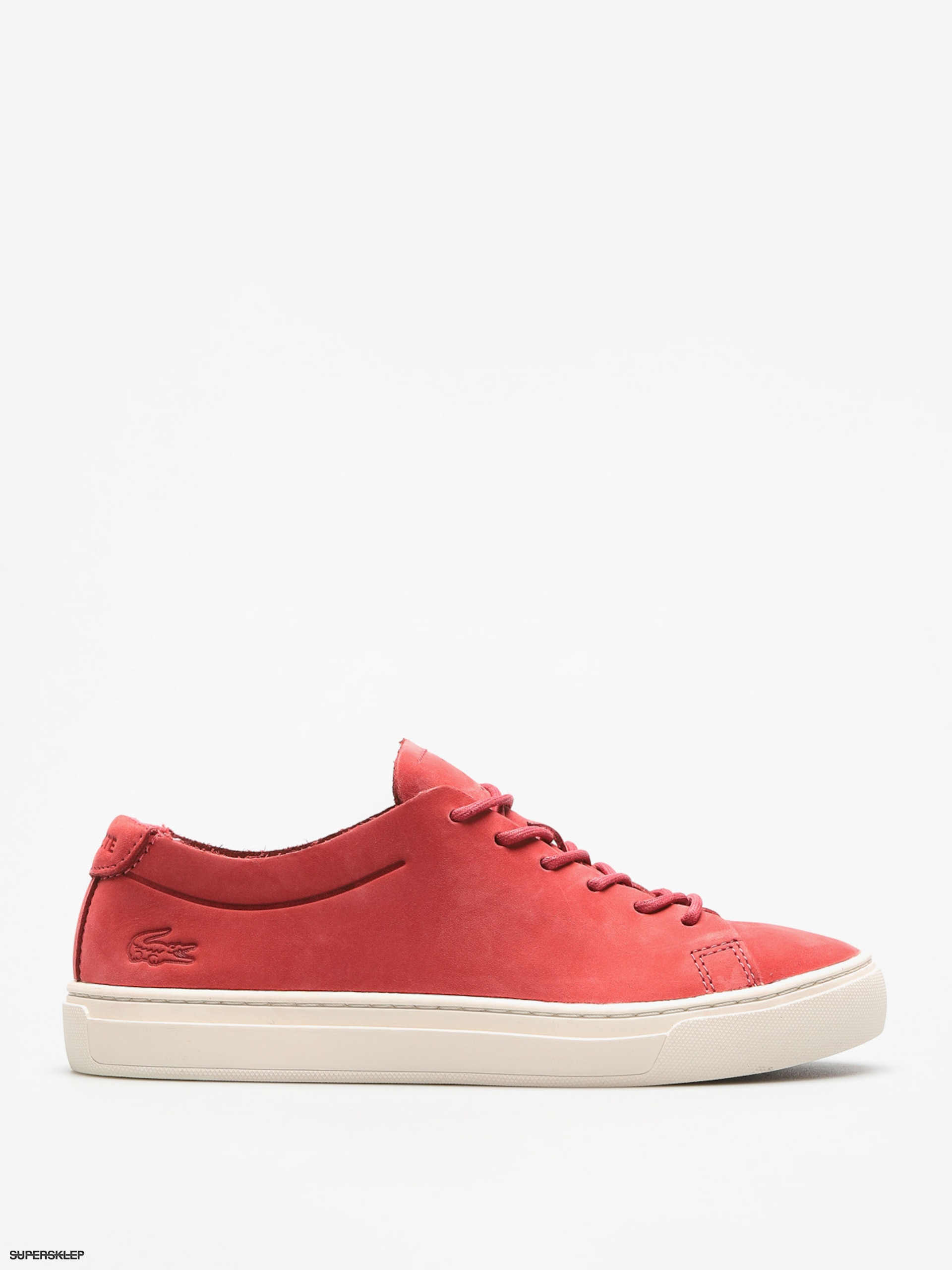 Topánky Lacoste L 12 12 Unlined 118 3 Wmn (red off white) 0986d541c58