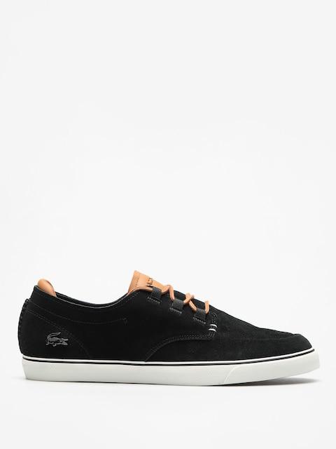Topánky Lacoste Esparre Deck 118 1 (black/light brown)