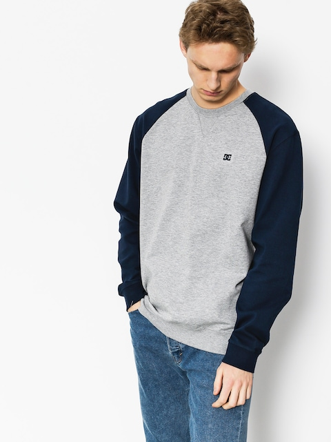 Mikina DC Glenties Crew (grey heather)