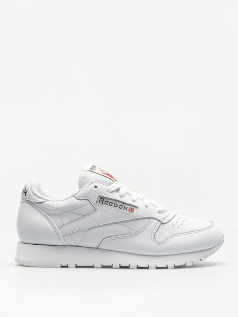 Topánky Reebok Cl Leather Wmn (white/carbon/red)