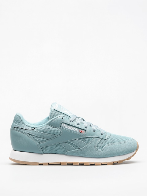 Tenisky Reebok Cl Leather Estl Wmn (whisper teal/white)