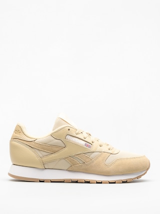 Tenisky Reebok Cl Leather Estl Wmn (straw/white)