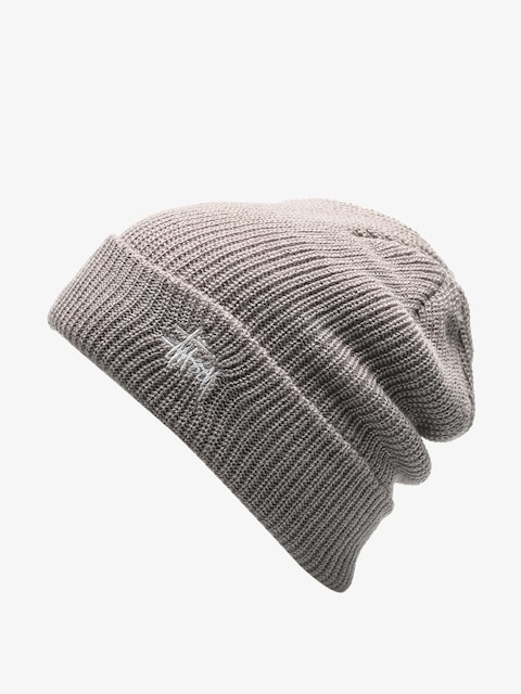 Čiapka Stussy Basic Cuff Beanie (grey heather)