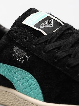 Topánky Puma Suede Diamond (puma black/diamond blue)