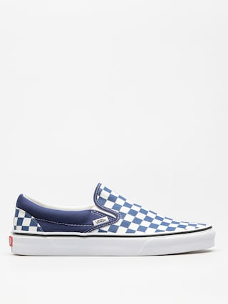 Topánky Vans Classic Slip On (checkerboard/estate/blue/true/white)
