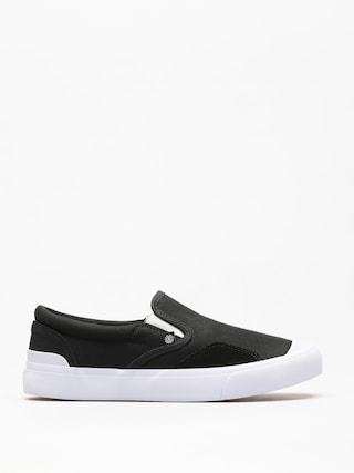 Topánky Element Spike Slip (black white)