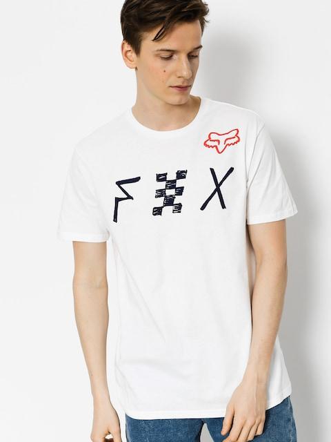 Tričko Fox Mind Blown Premium (opt wht)