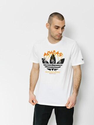 adidas Tričko Adidas Shock (white/black/corang/b)