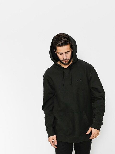 Mikina s kapucňou Stussy Stock Terry HD (black)