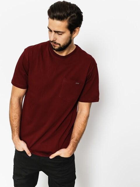 Tričko Nervous Pocket (maroon)