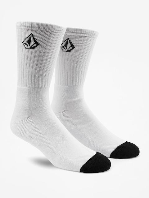 Ponožky Volcom Full Stone (wht)