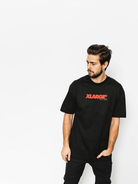 Tričko XLARGE All Sizes (black)