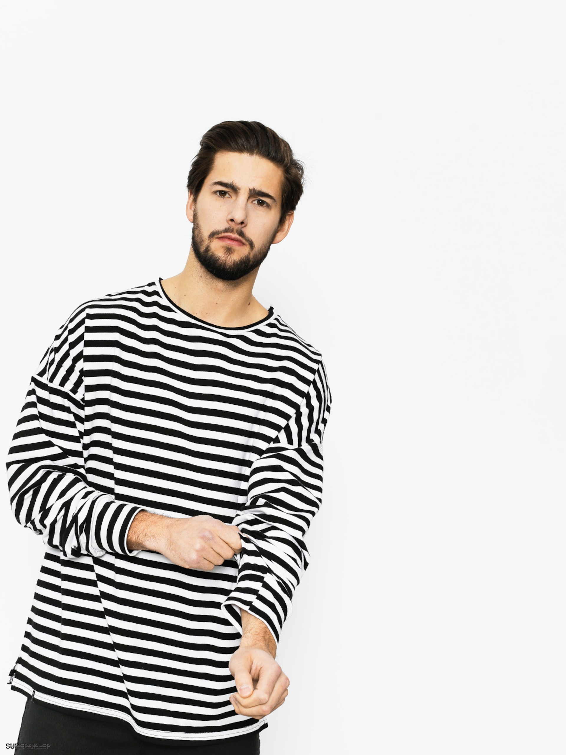 Tricko The Hive Stripes (black/white)