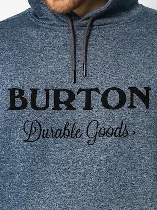 Mikina s kapucňou Burton Oak HD (winter sky heather)