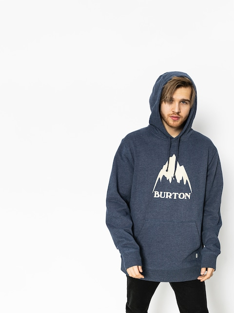 Mikina s kapucňou Burton Clssmtnhgh HD (mood indigo heather)