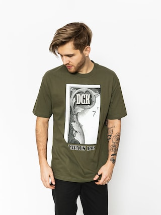 Tričko DGK Always 100 (military green)