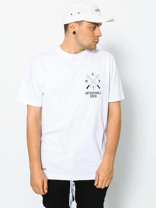 Tričko Diamante Wear Untouchable Crew (white)