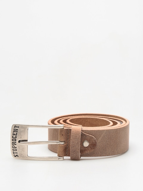 Opasok Stoprocent Texas (brown/silver)