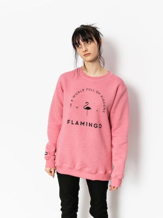 Mikina Diamante Wear Flamingo Wmn (pink)