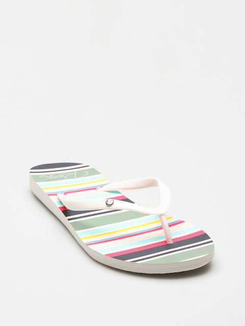 Plážovky Roxy Portofino II Wmn (white/multi)