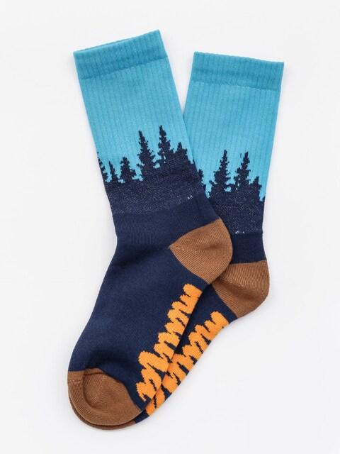 Ponožky Malita Forest (navy)