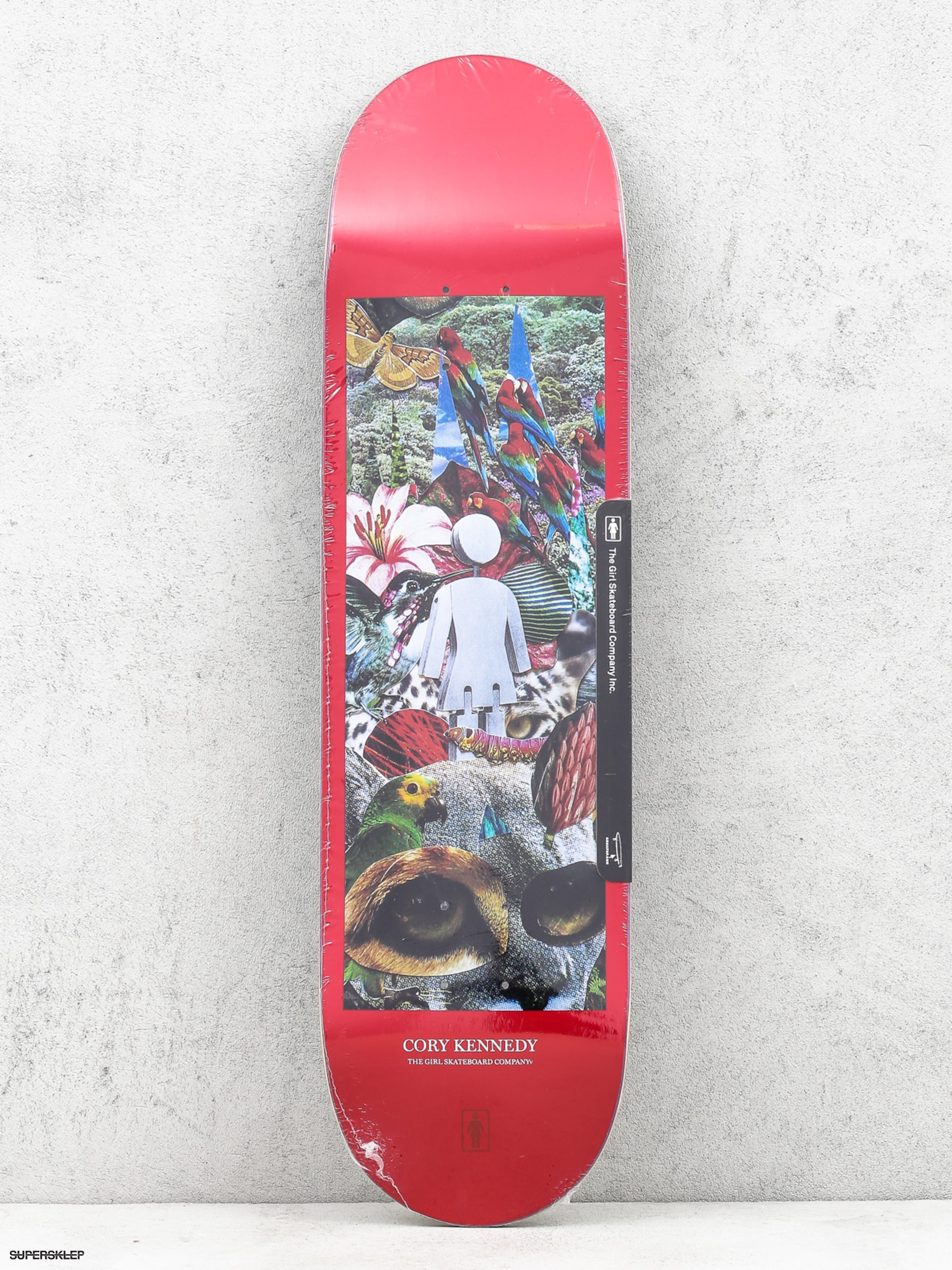 Doska  Skateboard Girl Kennedy Jungle (red)