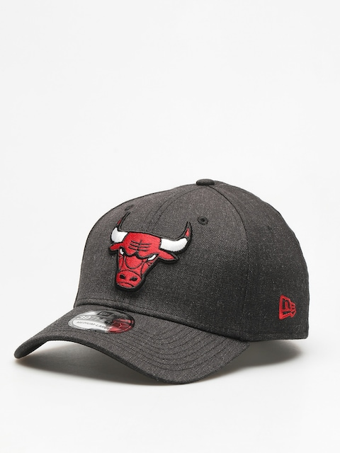 Šiltovka New Era  39Thirty Heather Team Chicago Bulls ZD (heather black)