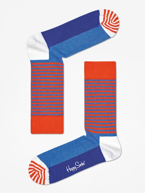 Ponožky Happy Socks Half Stripe (orange/blue)