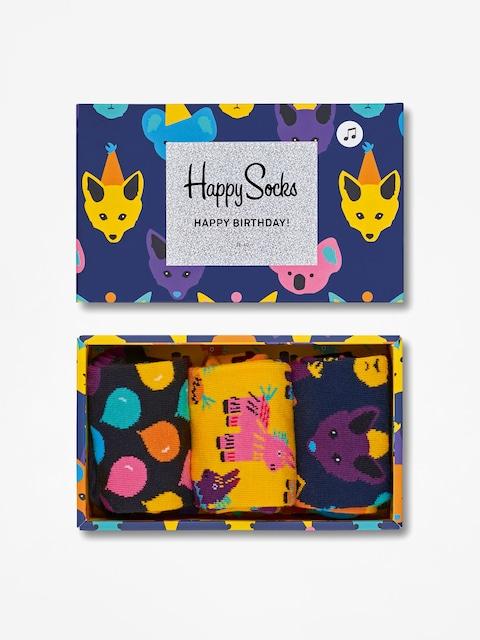 Ponožky Happy Socks Giftbox 3pk Party Animal Singing (multicolor)