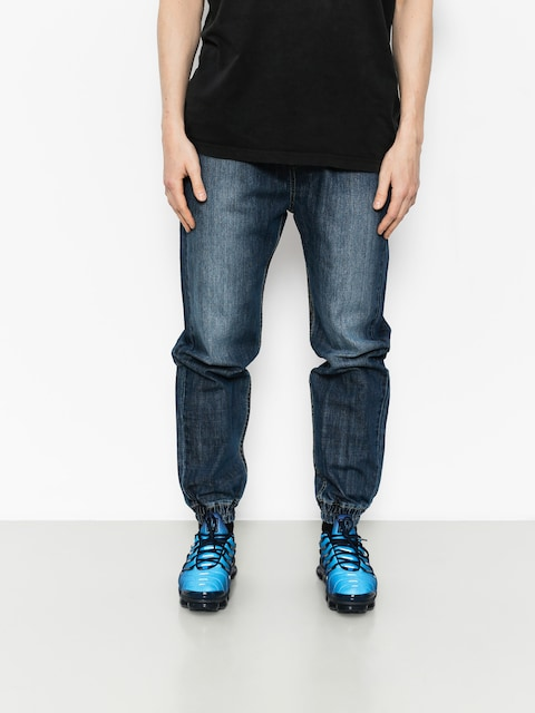 Nohavice MassDnm Joggers Signature (dark blue)