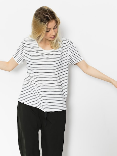 Tričko Roxy Just Simple Stripe Wmn (dress blue just simple stripe)